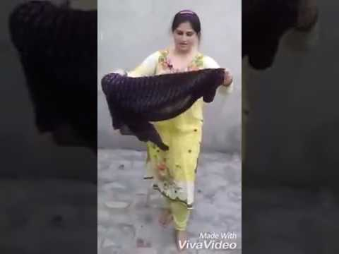 Pakistani desi girl beautiful dance on old song