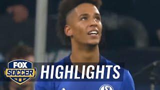 James Rodriguez scores his first Bayern goal vs. Schalke | 2017-18 Bundesliga Highlights