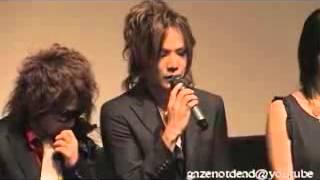 the GazettE Hard Revenge Milly Premiere 2009
