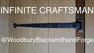 Hand Forged Strap Hinges