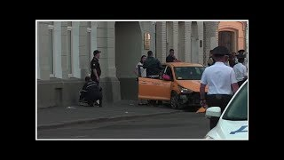 News Taxi hits pedestrians in Moscow amid World Cup festivities