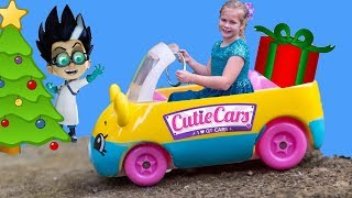 ASSISTANT Hunt For PJ Masks + Cutie Cars Scavenger Hunt Video