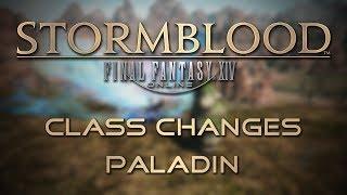 Stormblood Class Changes: Paladin