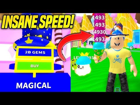 THE *NEW* MAGICAL HATS IN ICE CREAM SIMULATOR ARE INSANELY GOOD!! *FASTEST SCOOP SPEED* (Roblox)