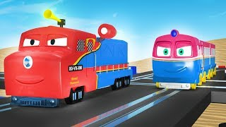 Toy Trains - Thomas and friends - Trains for kids - Train - Choo Choo train - kids videos for kids