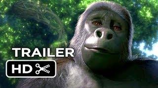 Tarzan 3D Main TRAILER (2013) - Kellan Lutz Motion-Capture Movie HD