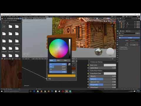 Xxx Mp4 Making A Cabin In The Woods Scene In Blender 2 8 Step By Step Tutorial 3gp Sex