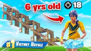 This 6yr old is BETTER THAN NINJA at Fortnite Battle Royale!