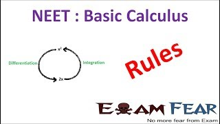 NEET Physics Basic Differentiation Integration : Rules