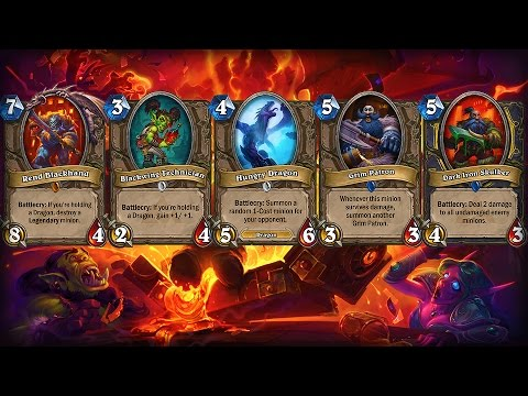 New Cards in Blackrock Mountain: A Hearthstone Adventure - PAX East 2015