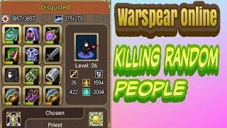 Warspear Online: Killing Random People