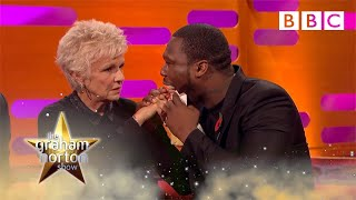 Julie Walters feels 50 Cent's gun shot wounds - The Graham Norton Show: Series 18 Episode 7 - BBC