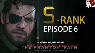 Metal Gear Solid 5: The Phantom Pain - Episode 6 S-Rank Walkthrough (Where Do The Bees Sleep?)