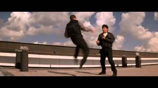 Jackie Chan Who Am I -- Funny Fighting Scene-- [[English Dubbed]]