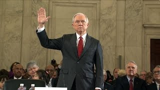 Trump Attorney General pick Jeff Sessions testifies at Senate