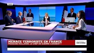 Politique française : François Hollande, le chef de guerre candidat ?