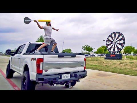 Giant Darts Battle Dude Perfect