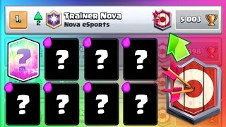 MASTER 1 TOP PLAYER BLIND DECK COPY | Clash Royale | Ultimate Champion Ep. 3
