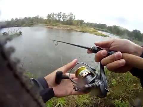 тактика ловли щуки на малых реках
