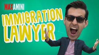 Slimy Immigration Lawyer and Max Amini
