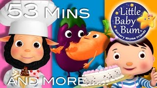 Food Songs - Part 2 | Plus Lots More Nursery Rhymes | 53 Minutes Compilation from LittleBabyBum!