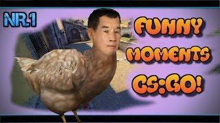 FUNNY MOMENTS 1 - CS:GO