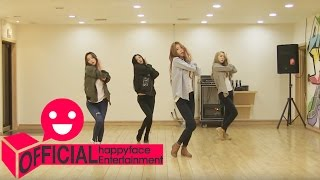 달샤벳(Dalshabet) '너 같은 (Someone like U)' 안무영상 Dance Practice