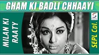 Gham Ki Badli Chhaayi | Mukesh @ Milan Ki Raat | Sanjay Khan, Sharmila Tagore
