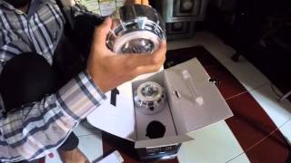 Unboxing  lampu mobil HID AES projector