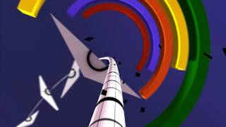 Proun Abstract Art Landscapes HD video game trailer - PC