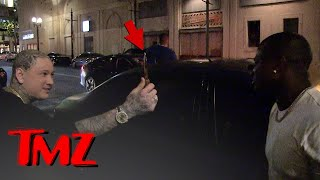 O.T. Genasis Loses It When His Car Gets Scratched at the Club | TMZ