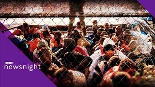 Hardline Italy and anti-migrant rhetoric - BBC Newsnight