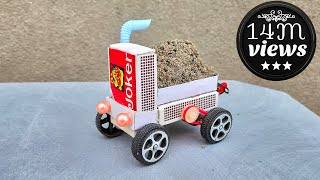 How to Make a Electric Toy Car Truck at Home  Matchbox Mini Car