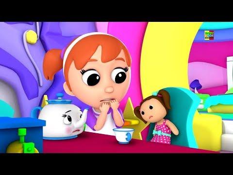 rindu polly memiliki sebuah boneka | sajak pembibitan | 3D Children Rhymes | Miss Polly Had a Dolly