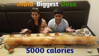 India Biggest Dosa | 1kg 4 feet | India Street Food