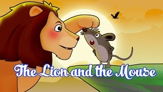 The Lion And The Mouse Story | Best FairyTales For Kids |  Watch Cartoons Online