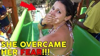 8 YEAR OLD OVERCOMING FEAR WITH HIS MOM!! (SO SCARED) | The Royalty Family