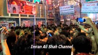 NEW NOHA - SEHWAN 2014 BY ZAHID HUSSAIN PARTY & SHEIKH SONY .... GHER AAJA VEERANA