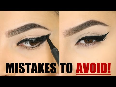 EYELINER MISTAKES YOU SHOULD AVOID!