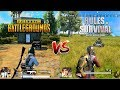 PUBG Mobile VS Rules OF Survival Comparison. Which One Is Best?