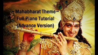 How to play Mahabharat Theme Song - Star Plus | Piano Tutorial by Farhan