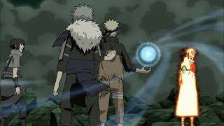 Naruto vs Obito (sage mode vs ten tails jinchuriki ) episode: 379 [HD]