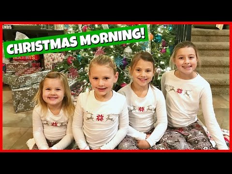 CHRISTMAS MORNING SPECIAL 2016 OPENING PRESENTS FAMILY FUN