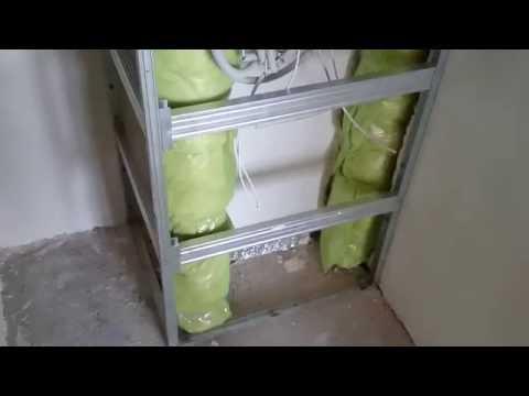 Монтаж гипсокартона в туалете ютуб