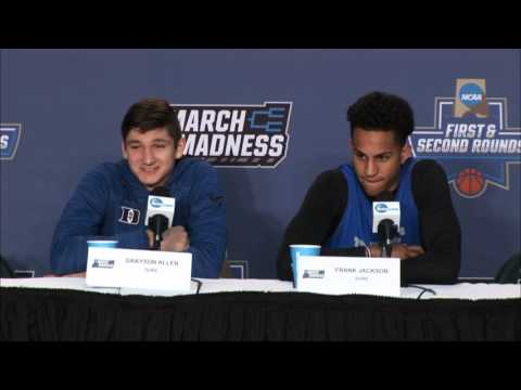 News Conference Duke Second Round Preview