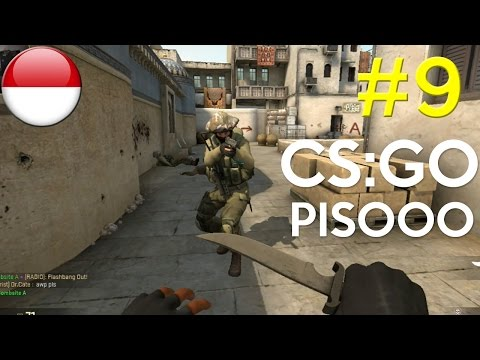 Pisoooo !!!! - Counter-Strike: Global Offensive #9 - PC Steam Gameplay