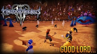 The New Battle of 1000 Heartless for Kingdom Hearts 3!