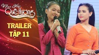 Nhạc hội quê hương | tập 11: Quỳnh Trang, Quỳnh Như xúng xính trong chiếc áo bà ba làm ai cũng thích