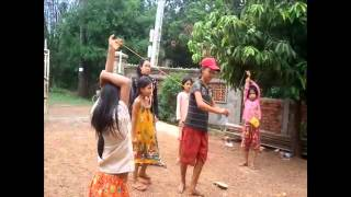 Comedy Funny Children Video Clip 2015 | Children play game Lout kao sau