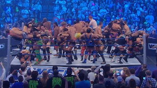 Historical 41-Man Battle Royal: SmackDown, Oct. 14, 2011